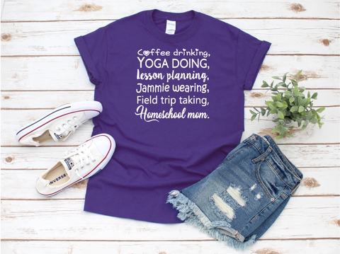 """Homeschool Mom"" T-shirt"