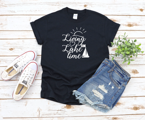 """Lake Time"" T-shirt"