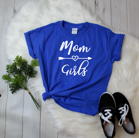 """Mom of Girls"" T-shirt"