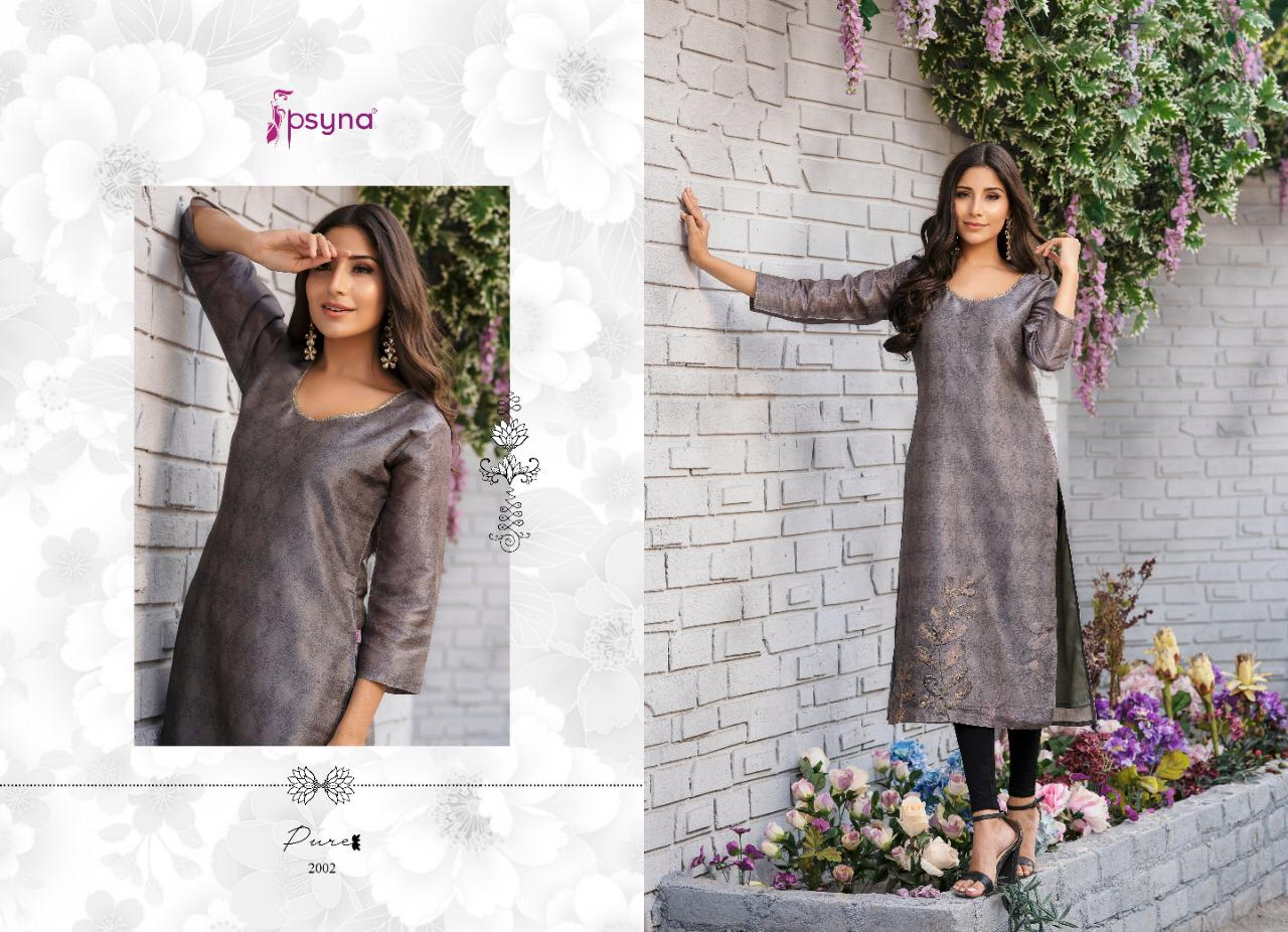 Beautiful designer silk kurti only