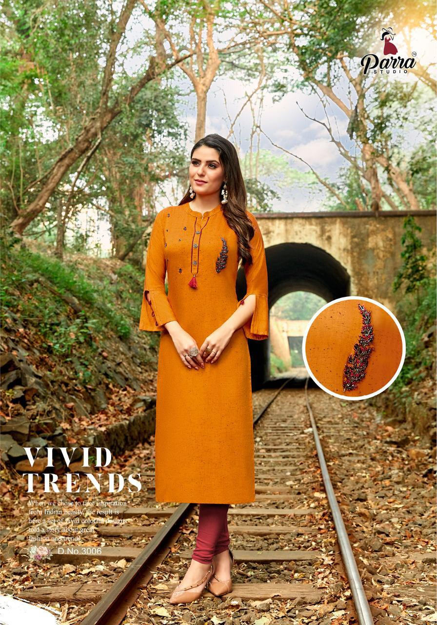 Beautiful designer rayon kurti