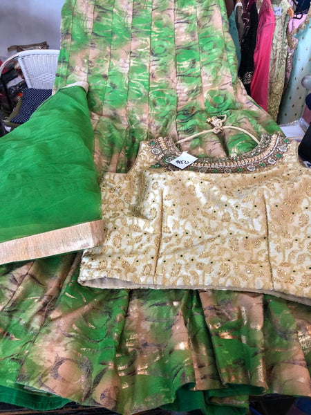 Beautiful designer ready made lengha choli suit