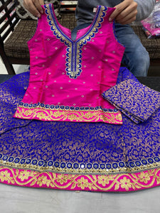 Beautiful designer lengha top for girls