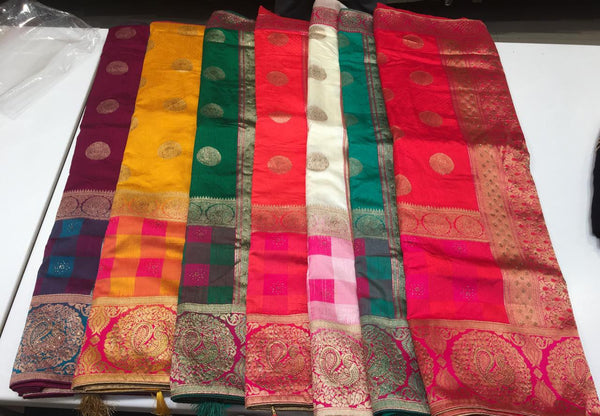 Beautiful designer box sarees