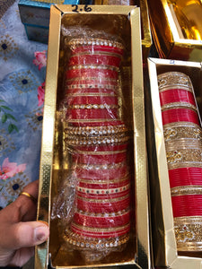 Beautiful designer chura/bridal bangles
