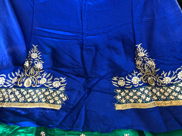 Beautiful designer unstitched punjabi patiala suit