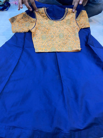 Beautiful designer lengha choli for kids