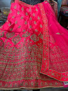 Beautiful designer semi stitch lengha choli