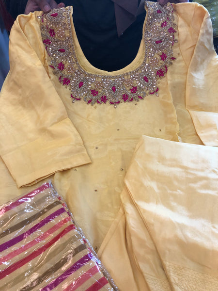 Beautiful designer Punjabi patiala suit