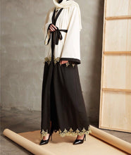 Load image into Gallery viewer, Gold Kimono Abaya