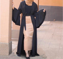 Load image into Gallery viewer, Bell Sleeved Abaya
