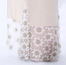 Load image into Gallery viewer, Beige Floral Open Front