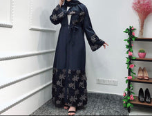 Load image into Gallery viewer, Maria Open Abaya