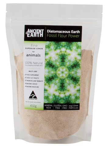 Diatomaceous Earth with Silica