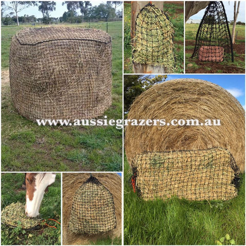 Aussie Grazer Large Slow Feeder Nets For Livestock