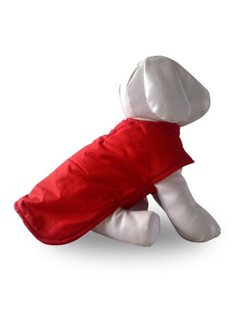 Australian Fortress Fabric Waterproof Dog Coat - Red