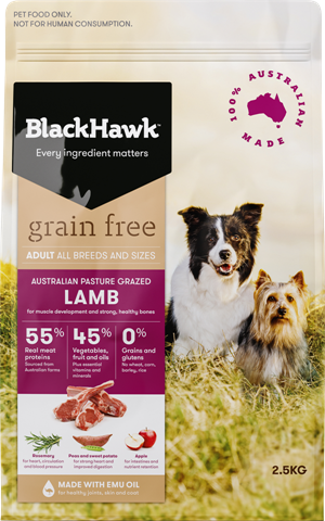 Black Hawk Grain Free Lamb
