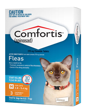 Comfortis Orange 4.6-9kg 3 Pack