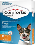 Comfortis Orange 4.6-9kg 6 Pack