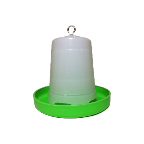 Plastic Green & White Feeder 1.5kg