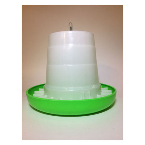 Plastic Green & White Feeder 3kg