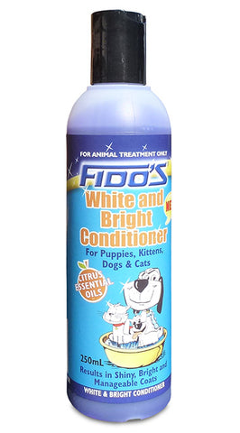 Fido's White and Bright Conditioner