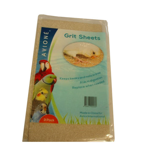 Grit Sheets Fine Shell 3 Pack