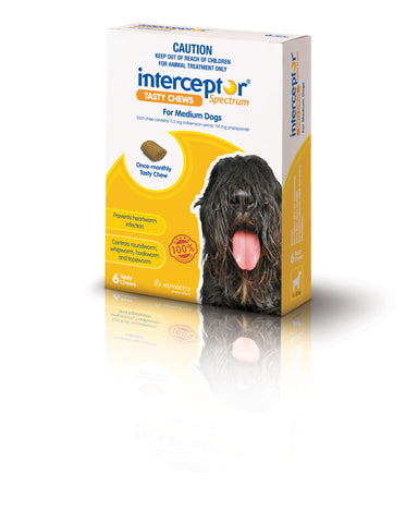 Interceptor Yellow 11-22kg 6 Pack