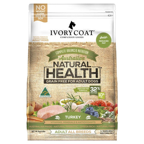 Ivory Coat Turkey (Senior/Reduced Fat)
