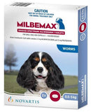 Milbemax For Dogs & Puppies Up to 5kg 2 Pack