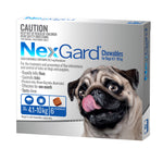 Nexgard Blue For Dogs 4.1-10kg