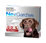 Nexgard Red For Dogs 25.1-50kg