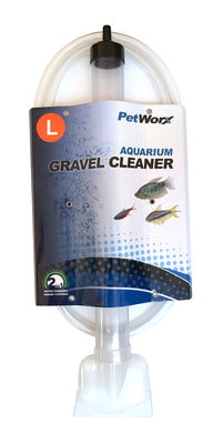 Petworx Aquarium Gravel Cleaner - 38cm/15inch