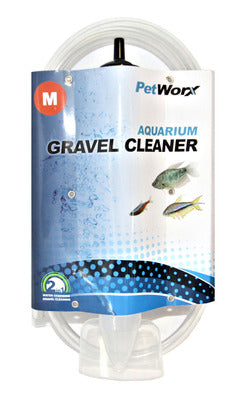 Petworx Aquarium Gravel Cleaner - 25cm/10inch