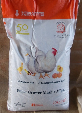 Kewpie Pullet Grower Mash 20kg