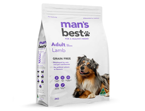 Man's Best Adult Lamb 2kg