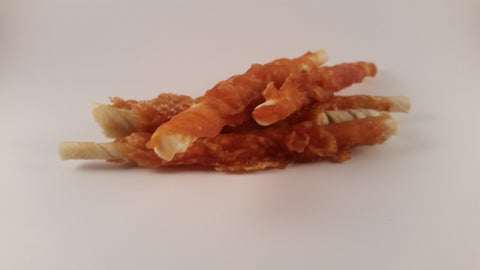 Chicken Rawhide Twists 500g
