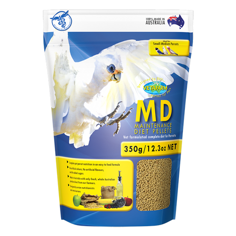 Vetafarm Maintenance Diet Pellets (MD)