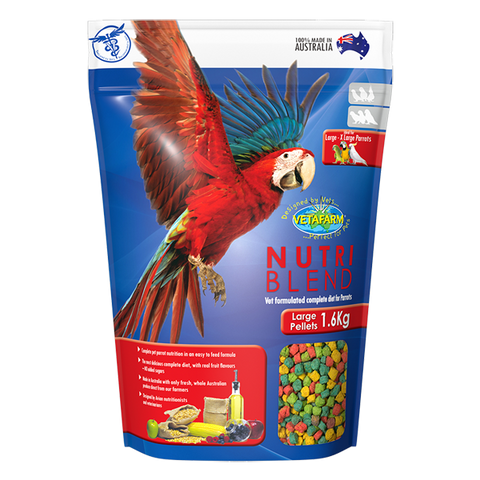 Vetafarm Nutriblend Pellets Large