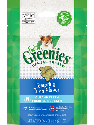 Greenies for Felines Tempting Tuna 60g
