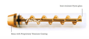 Twisty Glass Blunt 3.85""