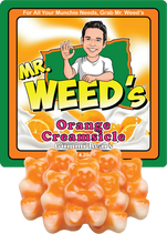 Load image into Gallery viewer, Mr. Weed's Orange Creamsicle Gummi Bears