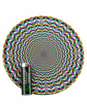 "Load image into Gallery viewer, 8"" Rubber Dropmat Psychedelic"