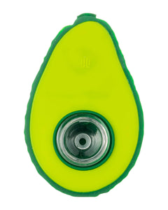 Silicone Avocado Pipe