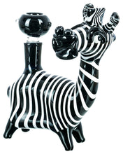 Load image into Gallery viewer, Zak the Zebra Bong