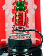 Load image into Gallery viewer, Sriracha Themed Carb Cap for Puffco Peak