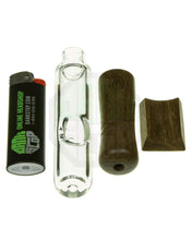 Load image into Gallery viewer, marley natural steamroller with wooden mouthpiece