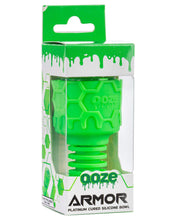 Load image into Gallery viewer, Ooze Armor Silicone Bowl and Mouthpiece Green