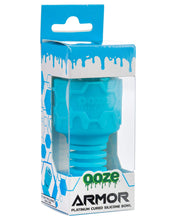 Load image into Gallery viewer, Ooze Armor Silicone Bowl and Mouthpiece Blue