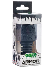 Load image into Gallery viewer, Ooze Armor Silicone Bowl and Mouthpiece Black